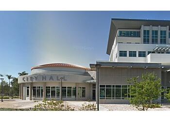 Coral Springs landmark CORAL SPRINGS CITY HALL