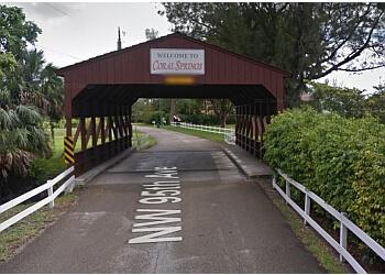 Coral Springs landmark CORAL SPRINGS COVERED BRIDGE