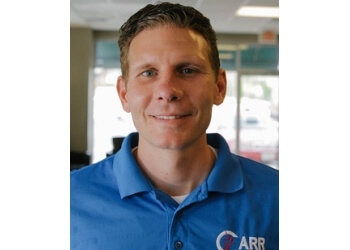Springfield physical therapist CORY CARR, PT, CWT