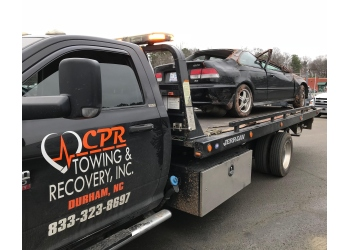 Durham towing company CPR Towing & Recovery