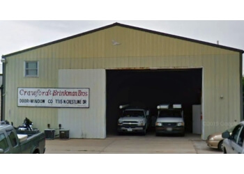 Peoria garage door repair CRAWFORD & BRINKMAN DOOR & WINDOW CO.