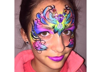 Cedar Rapids face painting CR Sisters Face Painting