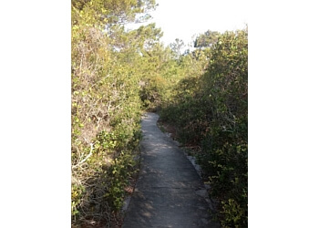 Pompano Beach hiking trail CRYSTAL LAKE SAND PINE SCRUB NATURAL AREA