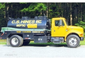 Virginia Beach septic tank service C S Hines