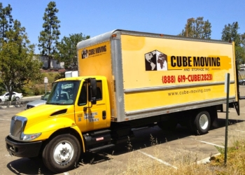 San Diego moving company CUBE MOVING & STORAGE