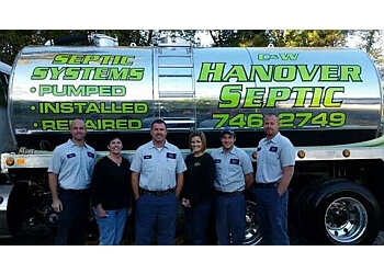 Richmond septic tank service C & W-Hanover Septic