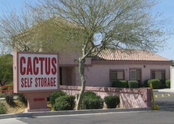 Glendale storage unit Cactus Self Storage