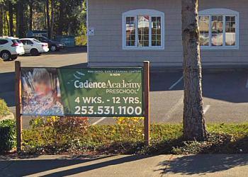 Tacoma preschool Cadence Academy Preschool
