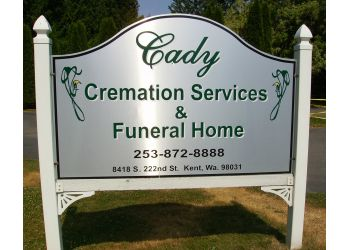 Kent funeral home Cady Cremation Services & Funeral Home