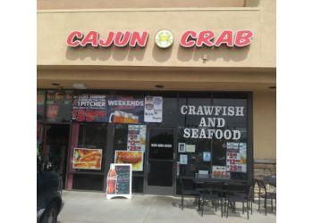 Fontana seafood restaurant Cajun Crab