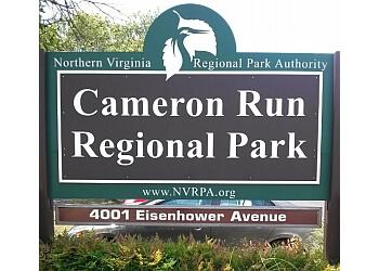 Alexandria public park Cameron Run Regional Park