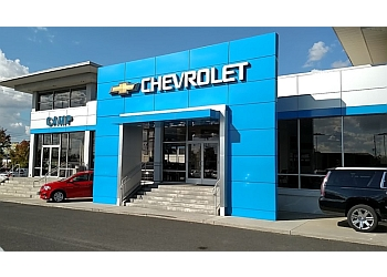 Spokane car dealership CAMP CHEVROLET CADILLAC