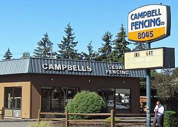Portland fencing contractor Campbell Fence Company