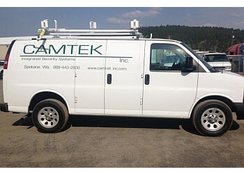 Spokane security system Camtek Inc.