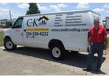 Huntsville roofing contractor C and K Roofing & Construction Services, LLC