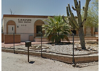 Tucson fencing contractor Canyon Fence Co Inc