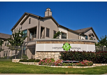 Waco apartments for rent Canyon Springs