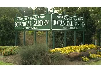Fayetteville places to see Cape Fear Botanical Garden
