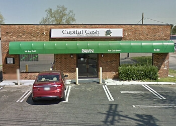 Raleigh pawn shop Capital Cash Pawn & Jewelry