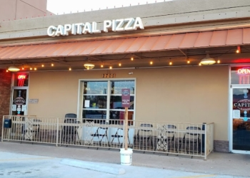 Lubbock pizza place Capital Pizza