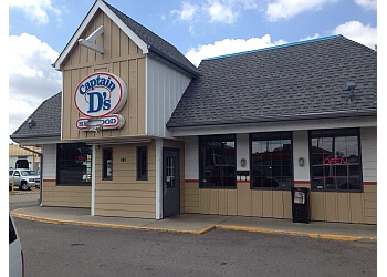 3 best seafood restaurants in aurora co threebestrated for Captain d s batter dipped fish