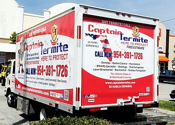 Hollywood pest control company Captain Termite