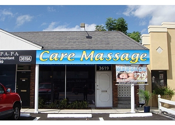 Tampa massage therapy Care Massage, Inc.