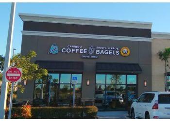 Cape Coral bagel shop Caribou Coffee & Einstein Bagels