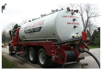 Joliet septic tank service Carl's Septic Service