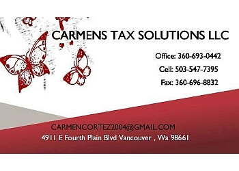 Vancouver tax service Carmens Tax Solutions