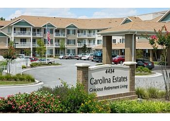 Greensboro assisted living facility Carolina Estates Gracious Retirement Living