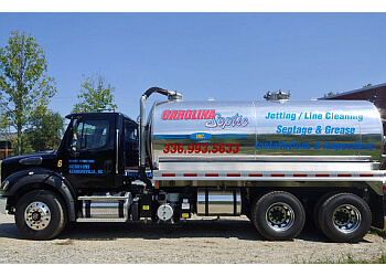 Greensboro septic tank service Carolina Septic Inc.