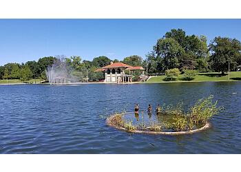 St Louis public park Carondelet Park