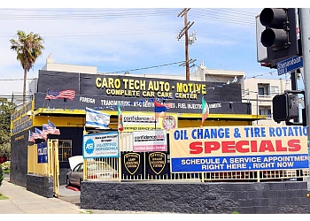 Los Angeles car repair shop Carotech Automotive and Tires