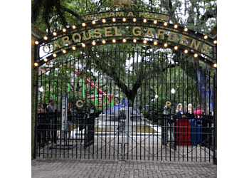 New Orleans amusement park Carousel Gardens Amusement Park
