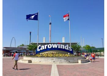 Charlotte amusement park Carowinds