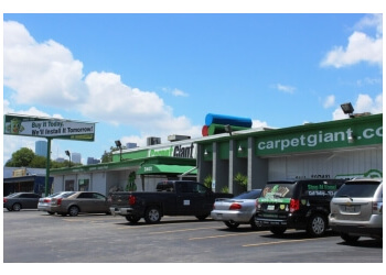 Houston flooring store Carpet Giant & Shop at Home