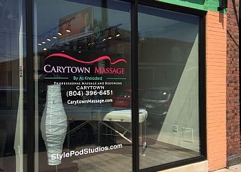 Richmond massage therapy Carytown Massage
