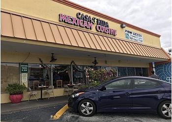 Fort Lauderdale mexican restaurant Casa Frida Mexican Cuisine