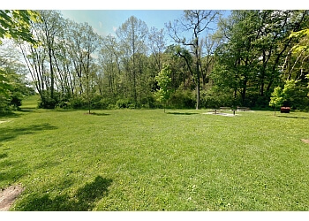 Akron public park Cascade Valley Metro Park