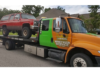 Mobile towing company CASHER'S WRECKER SERVICE LLC