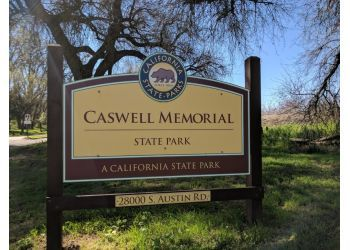Modesto hiking trail Caswell Memorial State Park
