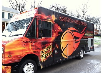 Cincinnati food truck Catch-A-Fire Pizza