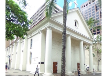 Honolulu church Cathedral Basilica
