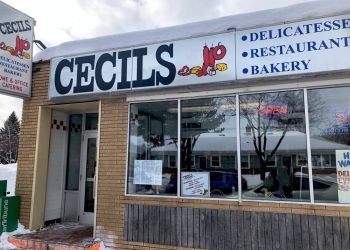 St Paul sandwich shop Cecils