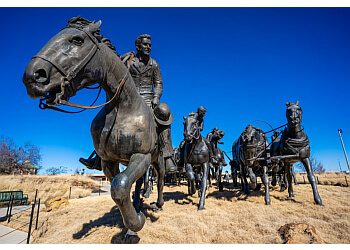 Oklahoma City landmark Centennial Land Run Monument