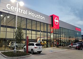 Houston car dealership Central Houston Nissan