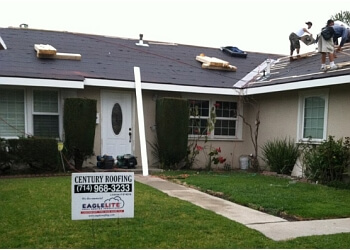 Huntington Beach roofing contractor Century Roofing Company