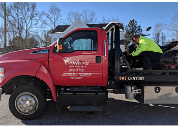 Virginia Beach towing company Century Towing Service, Inc.