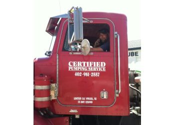 Omaha septic tank service Certified Pumping Services